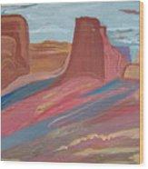 Southwest Granduer Wood Print