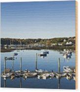 Southwest Harbor Maine Wood Print