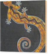 Southwest Lizard Wood Print