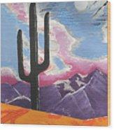 Southwest Skies 2 Wood Print