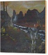 Southwest Splendor Wood Print
