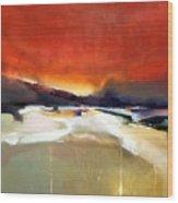 Southwest Sundown Wood Print