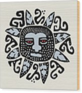 Southwest Tucson Sun Wood Print