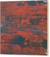 Southwest Usa Colors Wood Print