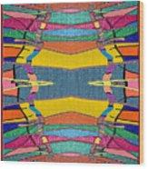 Southwestern Rug Wood Print