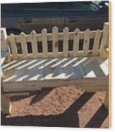 Southwestern Style Bench Wood Print