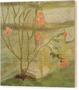 Southwick Hall Rose Wood Print