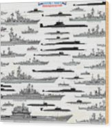 Soviet Navy Wood Print