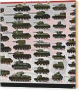 Soviet Tanks ww2 Wood Print