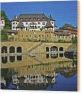 Spa Resort A-rosa - Kitzbuehel Wood Print by Juergen Weiss