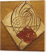 Space Cowboy - Tile Wood Print