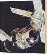Space: Skylab 3, 1973 Wood Print