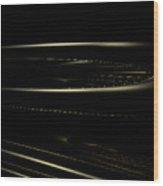 Space Station Freeway Wood Print