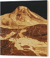 Space: Venus, 1991 Wood Print