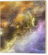 Space005 Wood Print