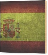 Spain Distressed Flag Dehner Wood Print