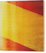 Spain Flag Wood Print by Setsiri Silapasuwanchai