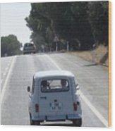 Spain Highway II Towards Seville Wood Print