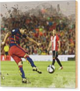 Spain Spanish Super Cup Wood Print