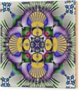 Spandex Wood Print