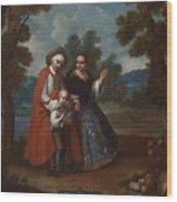 Spaniard And Morsica Wood Print