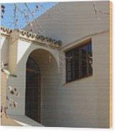 Spanish Archway Wood Print
