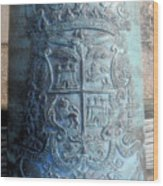 Spanish Crest 1764 Wood Print