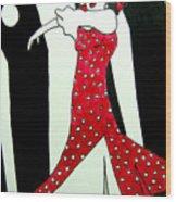 Spanish Dancer II  Wood Print