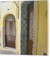 Spanish Doors Wood Print