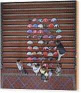Spanish Fans Sale Wood Print