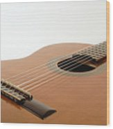 Spanish Guitar Wood Print
