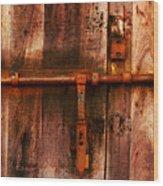 Spanish Latch Wood Print