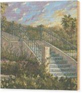 Spanish Steps Wood Print