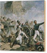 Spanish Uprising Against Napoleon In Spain Wood Print
