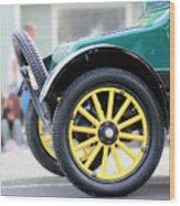 Spare Tire Wood Print