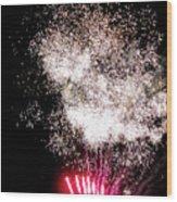 Sparkles Fireworks Wood Print