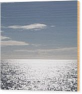 Sparkling Ocean Wood Print