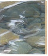 Sparkling Water On Rocky Creek 1 Wood Print