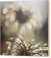 Sparkly Seedheads Wood Print