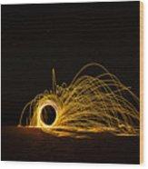Sparks 2 Wood Print