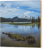 Sparks Lake, Oregon Wood Print