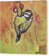 Sparrow - Bird Wood Print
