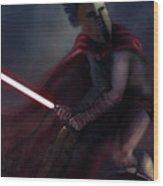Spartan Jedi Wood Print