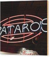 Spataros Wood Print