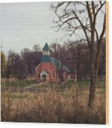 Spaulding Church Wood Print