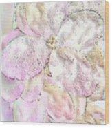 Speak Softly Pink Wood Print