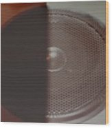 Speaker Wood Print