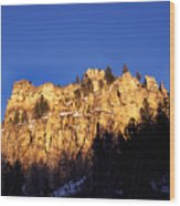 Spearfish Canyon National Scenic Byway Wood Print