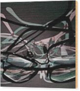 Spectacles 2 Wood Print