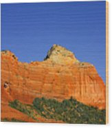 Spectacular Red Rocks - Sedona Az Wood Print